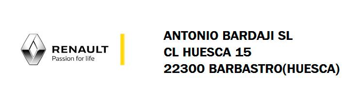 Antonio Bardaji SL , CL Huesca 15, 22300 Barbastro (Huesca)