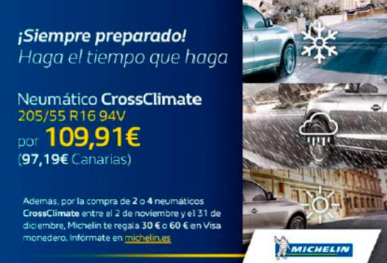 Neumático CrossClimate 205/55 R16 94V